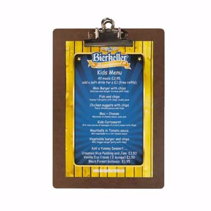 Picture of Menu Solutions CLIPBRD-59