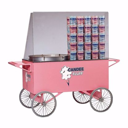 Picture of Gold Medal 3118SS Cotton Candy Machine / Display Cart