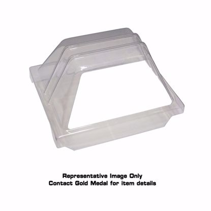 Picture of Gold Medal 8036SS Hot Dog Grill Sneeze Guard