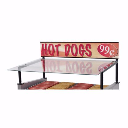 Picture of Star 45SG-G Hot Dog Grill Sneeze Guard
