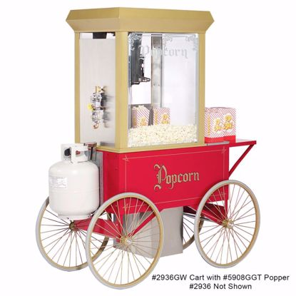 Picture of Gold Medal 2936 Popcorn Cart / Display Stand