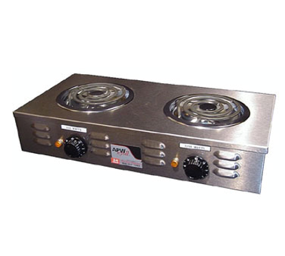 Picture of APW Wyott CP-2A Hotplate, Countertop, Electric