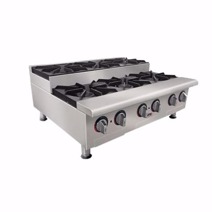 Picture of APW Wyott GHPS-4I-CE Hotplate, Countertop, Gas