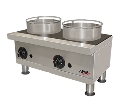 Picture of APW Wyott GHPW-2I Hotplate, Countertop, Gas