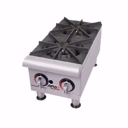 Picture of APW Wyott GHP-2I Hotplate, Countertop, Gas