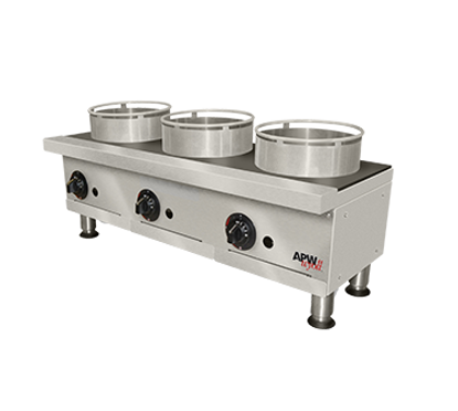 Picture of APW Wyott GHPW-3I Hotplate, Countertop, Gas