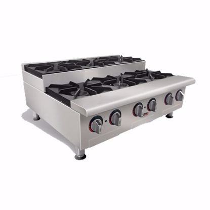 Picture of APW Wyott HHPS-212I Hotplate, Countertop, Gas