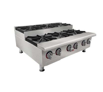 Picture of APW Wyott GHPS-4I Hotplate, Countertop, Gas