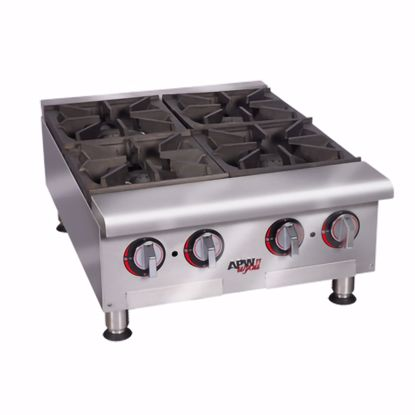 Picture of APW Wyott HHP-424I Hotplate, Countertop, Gas