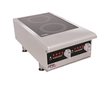 Picture of APW Wyott IHP-2 Induction Range, Countertop
