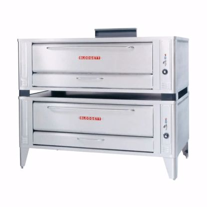 Picture of Blodgett Oven 1060 DOUBLE Pizza Oven, Deck-Type, Gas