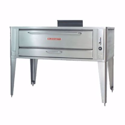 Picture of Blodgett Oven 1060 SINGLE Pizza Oven, Deck-Type, Gas