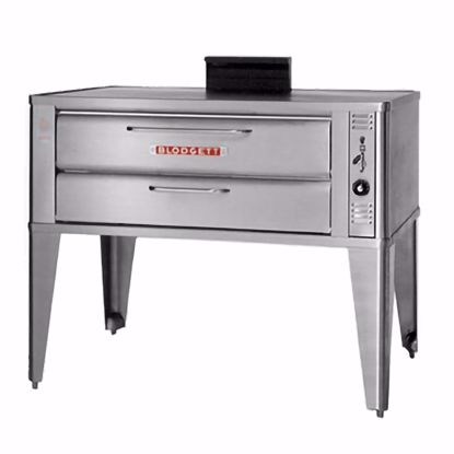 Picture of Blodgett Oven 911 TRIPLE Oven, Deck-Type, Gas
