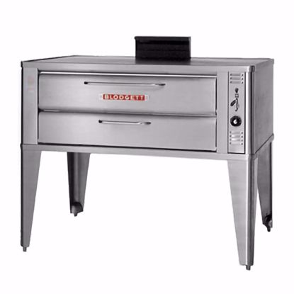 Picture of Blodgett Oven 911P DOUBLE Pizza Oven, Deck-Type, Gas