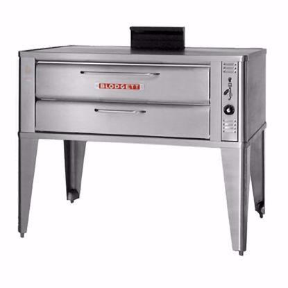 Picture of Blodgett Oven 911P TRIPLE Pizza Oven, Deck-Type, Gas