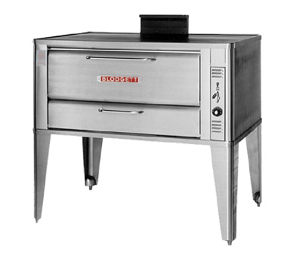 Picture of Blodgett Oven 951 SINGLE Oven, Deck-Type, Gas