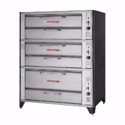 Picture of Blodgett Oven 961 TRIPLE Oven, Deck-Type, Gas