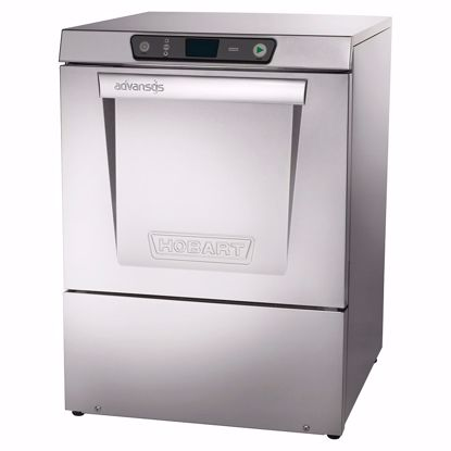 Picture of Hobart LXEH+BUILDUP Dishwasher, Undercounter