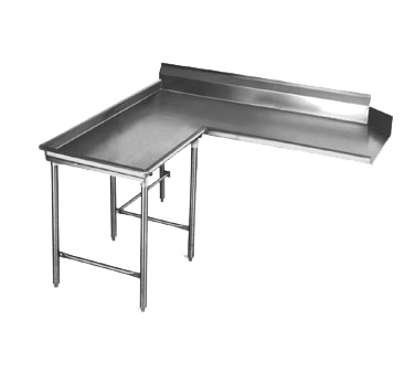 """Picture of Eagle Group CDTCIL-48-16/3 Dishtable, Clean """"L"""" Shaped"""