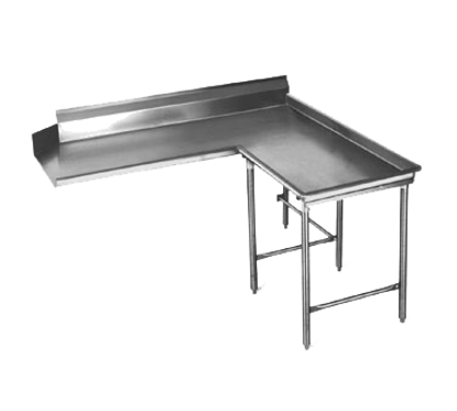 """Picture of Eagle Group CDTCIR-60-16/3 Dishtable, Clean """"L"""" Shaped"""
