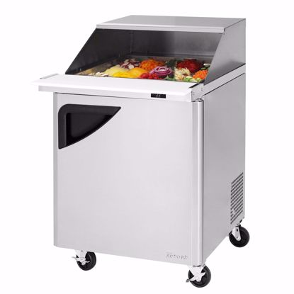 Picture of Turbo Air TST-28SD-12-N-SL Mega Top Sandwich / Salad Preparation Refrigerator