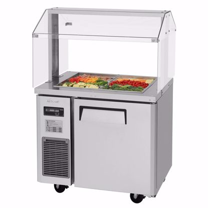 Picture of Turbo Air JBT-36-N Sandwich / Salad Preparation Refrigerator