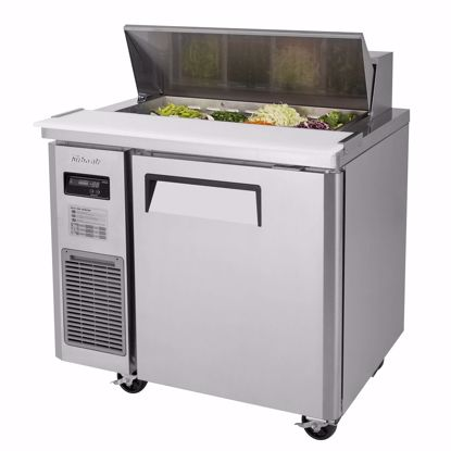 Picture of Turbo Air JST-36-N Sandwich / Salad Preparation Refrigerator