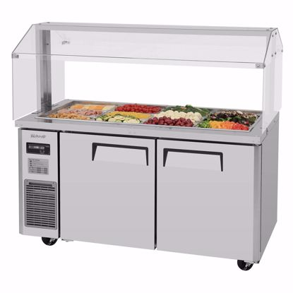 Picture of Turbo Air JBT-60-N Sandwich / Salad Preparation Refrigerator