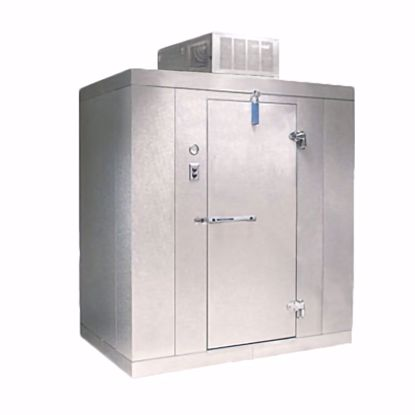 Picture of Nor-Lake KLB68-C Walk In Cooler, Modular, Self-Contained