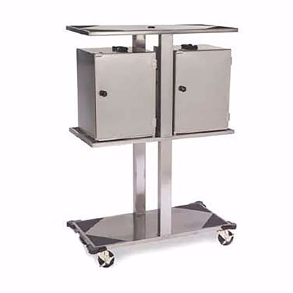Picture of Lakeside 693 Rack, Hand Lift Cabinet Transport Cart