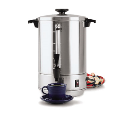 Picture of Crown Brands 58055R Coffee Percolator, Electric