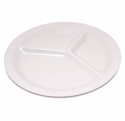 Picture of Carlisle 4300042 Plastic Compartment Plate/Platter