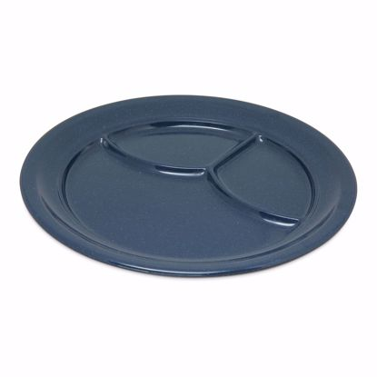 Picture of Carlisle 4351435 Plastic Compartment Plate/Platter
