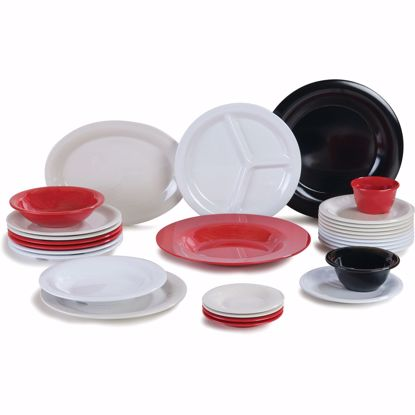 Picture of Carlisle 3300003 Plastic Compartment Plate/Platter