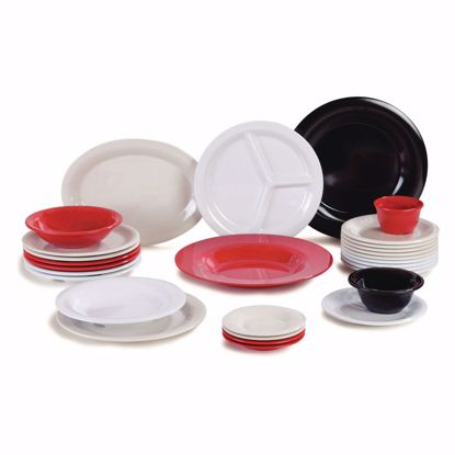 Picture of Carlisle 3300009 Plastic Compartment Plate/Platter