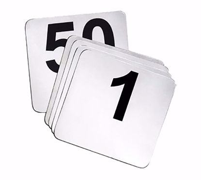 Picture of Tablecraft  N150   Table Numbers Cards