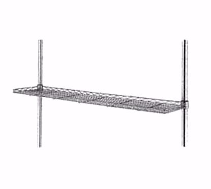 Picture of Metro 1224CSNBL Wire Cantilevered Shelving