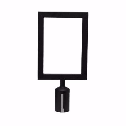 Picture of Winco CGSF-12K Crowd Control Stanchion  Sign Frame