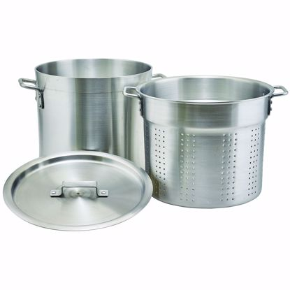 Picture of Winco ALDB-16S Double Boiler Steamer Set