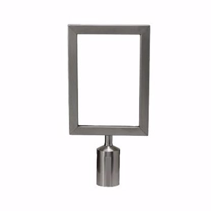 Picture of Winco CGSF-12S Crowd Control Stanchion  Sign Frame