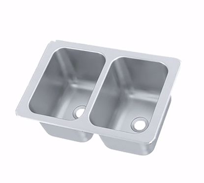 Picture of Vollrath   102-1-2   Drop-In Sink Bowls