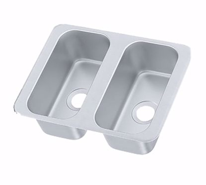 Picture of Vollrath   12065-2   Drop-In Sink Bowls