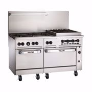 """Picture for category Range, 60"""" 6 Burners, 24"""" Charbroiler"""