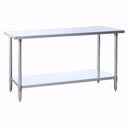 Picture of Atosa MRTW-2472 Work Table, Stainless Steel Top