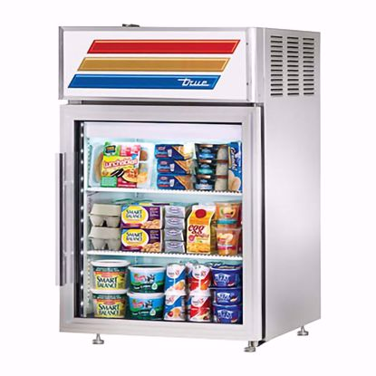 Picture of True GDM-05PT-S-HC-LD Counter Refrigerator