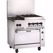 """Picture for category Range, 36"""", 2 Burners, 24"""" Charbroiler"""