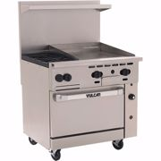 """Picture for category Range, 36"""", 2 Burners, 24"""" Griddle"""