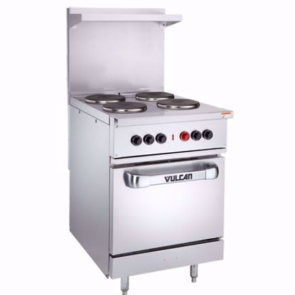 "Picture of Vulcan EV24S-4FP-208 Range, 24"", 4 French Hot Plates"