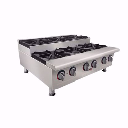 Picture of APW Wyott GHPS-2I Hotplate, Countertop, Gas