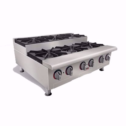 Picture of APW Wyott HHPS-424I Hotplate, Countertop, Gas